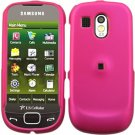 Pink Cover Case Snap on Protector + Car Charger for Samsung Calibur R850