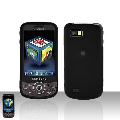 Black Cover Case Snap on Protector for Samsung Behold 2 T939