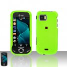 Green Cover Case Snap on Protector + Car Charger for Samsung Mythic A897
