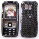 Carbon Fiber Cover Case Rubberized  Snap on Protector for Samsung Rant M540