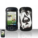 Spade Skull Cover Case Snap on Protector for Motorola Cliq XT
