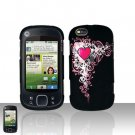 Heart Cover Case Snap on Protector for Motorola Cliq XT