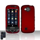 Red Cover Case Snap on Protector for Samsung Reality U820
