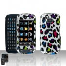 Colorful Leopard Cover Case Snap on Protector for Samsung Impression A877