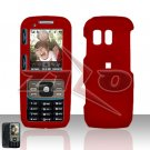 Red Cover Case Snap on Protector for Samsung Rant M540