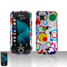 Colorful Dots Cover Case Snap on Protector for Samsung Mythic A897