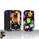 Colorful Paints Cover Case Snap on Protector for Samsung Moment M900