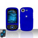 Blue Cover Case Snap on Protector for Samsung Strive A687