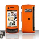 Orange Cover Case Snap on Protector for LG enV TOUCH VX11000