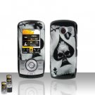 Spade Skull Case Cover Snap on Protector for LG Lyric MT375