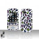 Colorful Leopard Cover Case Snap on Protector for LG Shine II 2