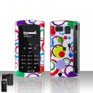 Sanyo Incognito 6760 Colorful Dots Cover Case Snap on Protector