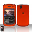 Blackberry Bold 9650 Orange Cover Case Snap on Protector