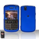 Blackberry Bold 9650 Blue Cover Case Snap on Protector