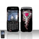 Blackberry Pearl 3G 9100 Vintage Heart Cover Case Snap on Protector