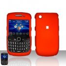Blackberry Curve 8520 8530 Orange Cover Case Snap on Protector