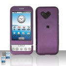 HTC Google G1 Android Purple Cover Case Snap on Protector