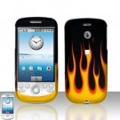 HTC G2 MyTouch 3G Flames Cover Case Snap on Protector
