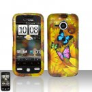 HTC Droid Eris S6200 Yellow Flowers Case Cover Snap on Protector