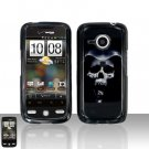 HTC Droid Eris S6200 Hooded Skull Case Cover Snap on Protector
