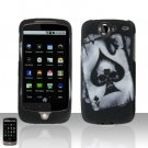 HTC Google Nexus One Spade Skull Case Cover Snap on Protector