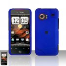 HTC Droid Incredible 6300 Blue Case Cover Snap on Protector