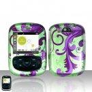 Purple Vines Case Cover Snap on Protector for UTStarcom TXTM8 8026c