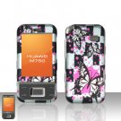 Huawei M750 Butterflies Design Case Cover Snap on Protector