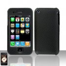 Carbon Fiber Cover Case Hard Snap on for Apple iPhone 3G 3GS