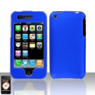 Blue Cover Case Hard Snap on for Apple iPhone 3G 3GS