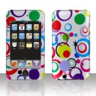 Colorful Dots Hard Snap on Case Cover for Apple iPod Touch 2 Touch 3