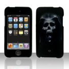 Hooded Skull Hard Snap on Case Cover for Apple iPod Touch 2 Touch 3