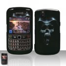 Blackberry Bold 9650 Hooded Skull Cover Case Snap on Protector