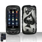 Spade Skull Cover Case Snap on Protector for Samsung Reality U820