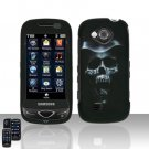 Hooded Skull Cover Case Snap on Protector for Samsung Reality U820