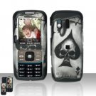 Spade Skull Cover Case Snap on Protector for Samsung Rant M540