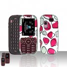 Pink Spots Case Cover Snap on Protector for Samsung Gravity 2 T469