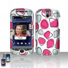 HTC myTouch Slide 3G Pink Spots Case Cover Snap on Protector