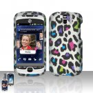 HTC myTouch Slide 3G Colorful Leopard Case Cover Snap on Protector