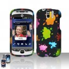 HTC myTouch Slide 3G Colorful Paints Case Cover Snap on Protector