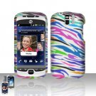 HTC myTouch Slide 3G Rainbow Zebra Case Cover Snap on Protector