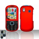 Samsung Intensity 2 U460 Red Case Cover Snap on Protector