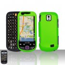 Neon Green Case Cover Snap on Protector for Samsung Intercept M910