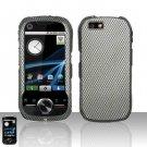 Carbon Fiber Hard Snap On Case Cover for Motorola i1
