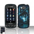 Midnight Wolf Hard Snap On Cover Case for Samsung Reality U820