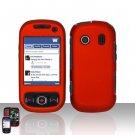 Orange Hard Snap On Cover Case for Samsung Seek M350