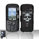 Hooded Skull Hard Snap On Cover Case for LG Rumor 2 LX265
