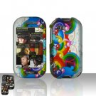 Rainbow Hard Case Cover for Mircorsoft Sharp Kin 2 Two