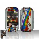 Rainbow Hearts Hard Case Cover for Mircorsoft Sharp Kin 2 Two