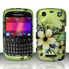 Hawaiian Flowers Hard Case Cover for Blackberry Curve 9350 9360 9370